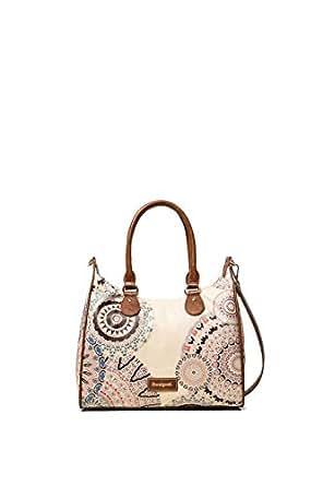 Luxury Fashion   Desigual Womens 19WAXPDHBEIGE Beige Handbag   Fall Winter 19