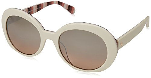 Kate Spade New York Women's Cindra/S Ivory/Brown Gradient Mirror One ()