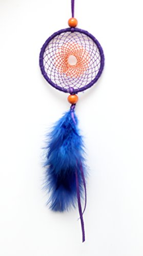 Daedal Dream Catchers Car Decor Dream Catchers Purple And Orange - Figis com invoice