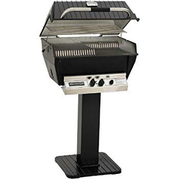 Broilmaster P3-xfn Premium Natural Gas Grill On Black Patio ()