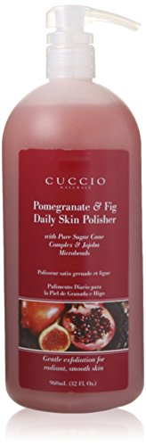 (Cuccio Pomegranate and Fig Skin Polisher, 32 Ounce)