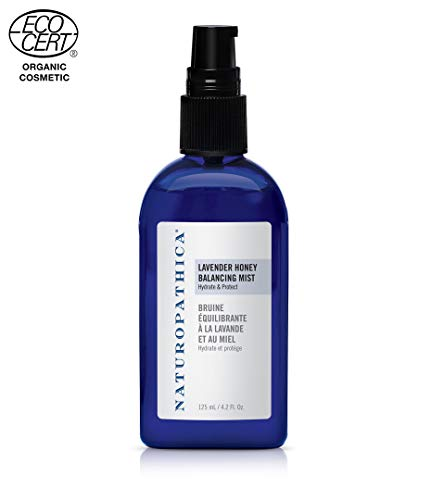 Naturopathica Lavender Honey Balancing Mist, 4.2 oz. | Refreshing Facial Mist to Balance the Skin and Mind | ECOCERT-certified
