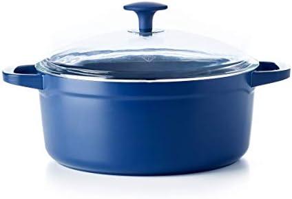 Blue Diamond Cookware Ceramic Nonstick Big Batch, Dutch Oven 5QT (CC003732-001)
