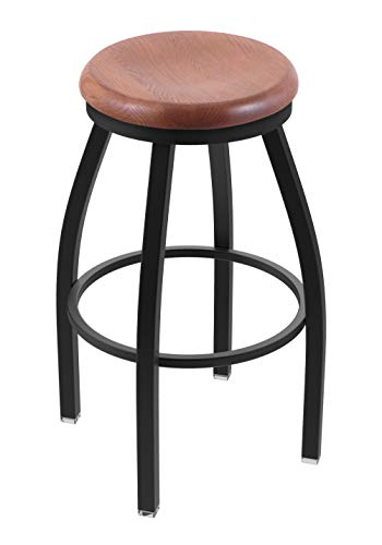 - Holland Bar Stool Co. 80230BWMedOak 802 Misha Bar Stool, 30