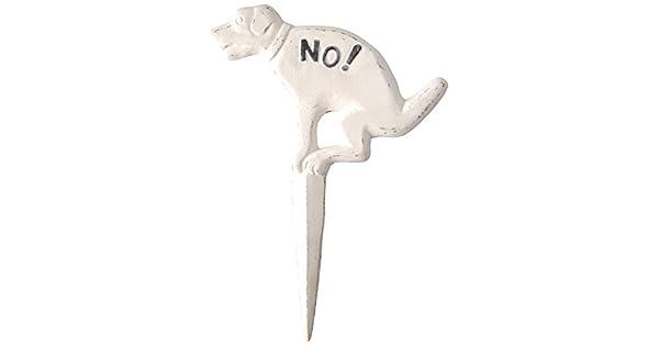 Amazon.com: Esschert Design USA. Cartel de perros para el ...