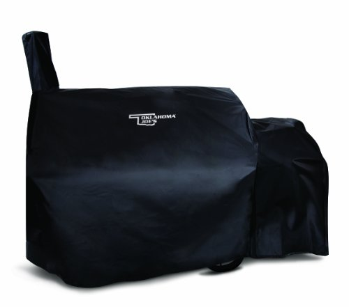 Oklahoma Longhorn Offset Smoker Cover product image