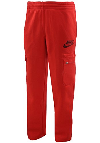 Nike Mens AW77 Futura Logo Pants Red
