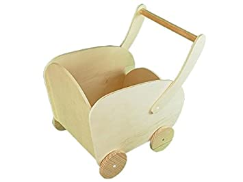 Greca Carro Madera. Ideal para Habitaciones Infantiles. En Crudo, para Decorar.: Amazon.es: Hogar