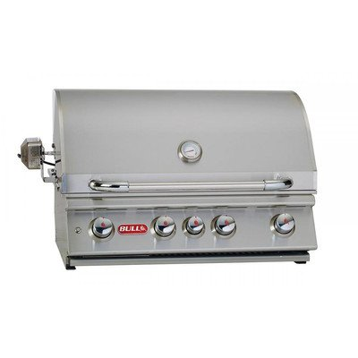 30'' Angus Built-In Gas Grill with Lights Gas Type: Natural Gas by Bull Outdoor Products