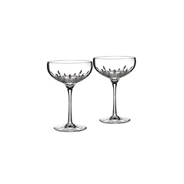 Lismore Essence Saucer Champagne Glass (Set of 2)