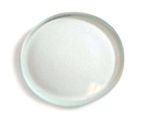 Eisco Labs Glass Lenses - Double Convex, 38mm Diameter, 50mm Focal Length - 38mm Lens