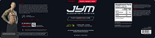 JYM Supplement Science Post JYM Carb 30 Serving, Natural Lemon Lime, 990 Gram