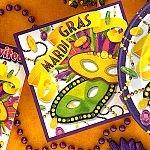 Mardi Gras Luncheon Napkins - 20 (Mardi Gras Luncheon Napkins)