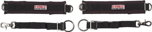 G-Force 4087ADUBK Black Adult Arm Restraints by G-FORCE Racing ()