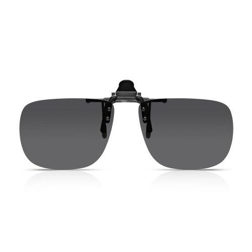 Read Optics Clip-On Sunglasses: Mens/Womens Flip-Up Polarised Sun Lenses fit...