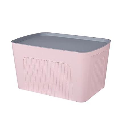 U-ecuerda el espesor de la caja de almacenamiento de plástico grande Caja de juguetes