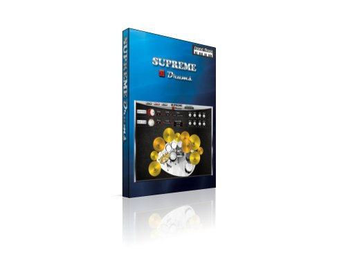 Sound Magic DRUM-01 Supreme Drums Virtual Instrument - Drum Software