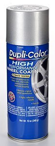 Dupli-Color EHWP10107 Silver High Performance Wheel Paint - 12 oz. (Dupli Color Wheel Coating)