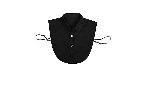 BASSK - Accesorios de mujer adulto con cuello desmontable ...