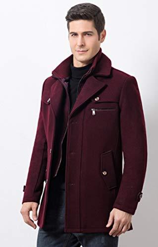 Hzcx Fashion Fashion Hzcx Homme Bordeaux Manteau Manteau Hzcx Homme Bordeaux qSwB76wT