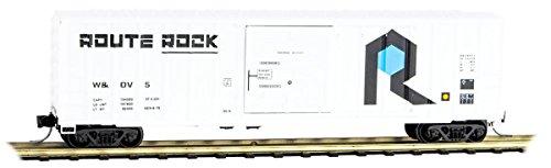 Micro-Trains MTL N-Scale 50ft. Rib Side Box Car Rock Island/Route Rock/W&OV #5 (50' Rib Side Boxcar)