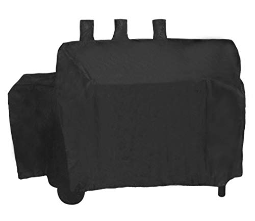 - ProHome Direct Heavy Duty Waterproof Grill Cover for Char-Griller Duo 5050 Gas and Charcoal Grill,Black