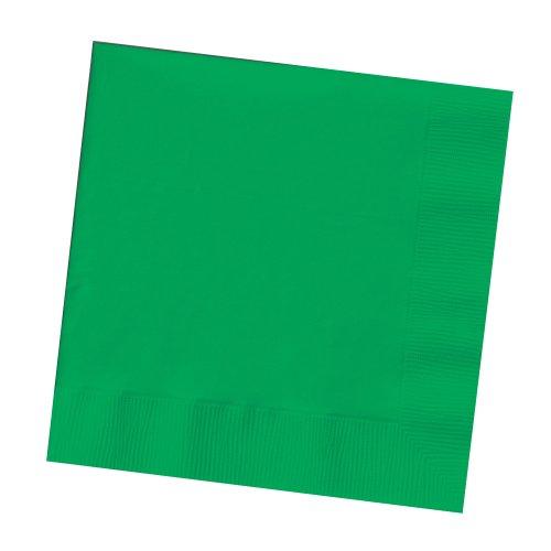 Creative Converting Beverage Napkins Emerald