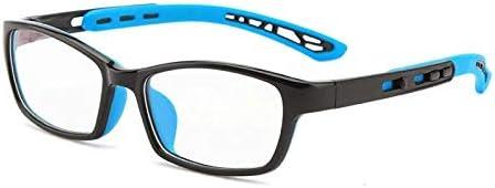 Jungen Und Mädchen Klassische Anti-Blau-Licht Brille Mode Wilde Baby Silikon Versenkbare Beine Brille Rahmen