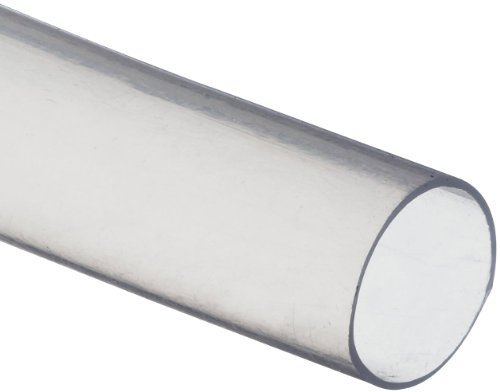 Zeus PTFE Tube Thin Wall 1/4 Gauge 10' Length Coil or (Thin Wall Plastic Tubing)