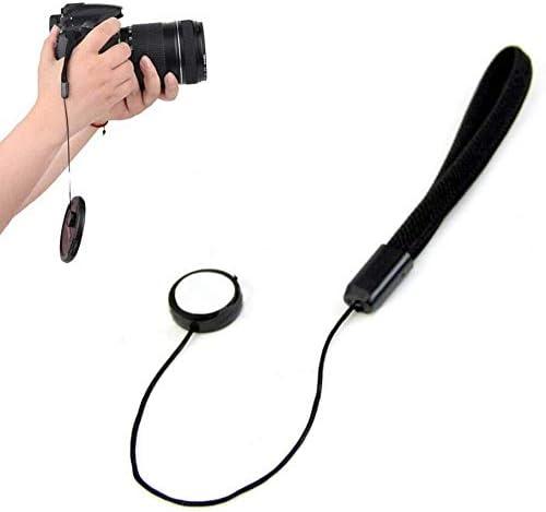 AiLove Camera Lens Cap Keeper Holder with Elastic String Anti-Loss for Canon Panasonic 2 Pack Fujifilm Pentax Sigma DSLR//SLR//Evil//Mirrorless Cameras Video Cameras Sony Nikon