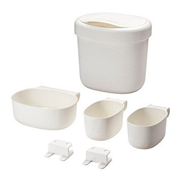 IKEA ONSKLIG stor baskets changing table set of 4, white by Ikea by IKEA