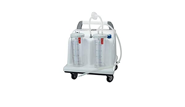 Tobi 28216 quirúrgico aspirador clínica, 2 x 4L, 230 V, con ...