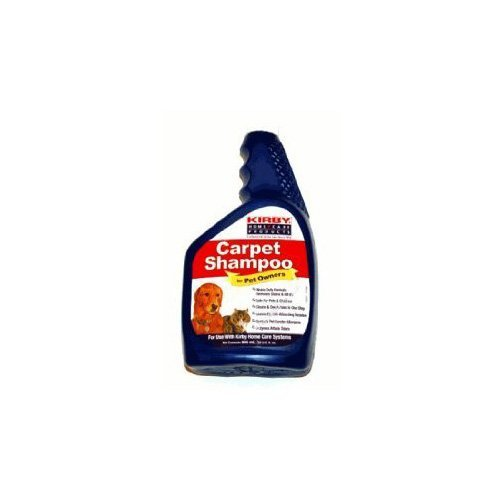 - 1 X Kirby 235406 Pet Owners Carpet Shampoo (946 ml, 32 U.S. fl oz.) - Use with Kirby Home Care System
