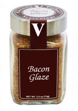 Bacon Glaze – Victoria Taylor 2.5 Oz Jar – 100% Smoked Seasoning Blend, Sweet hints of Honey, Maple and Clove, Salt-Free and well balanced with Paprika as well as Cinnamon and Parsley, the perfect gift for any chef who is looking for a taste that makes bacon better than bacon.