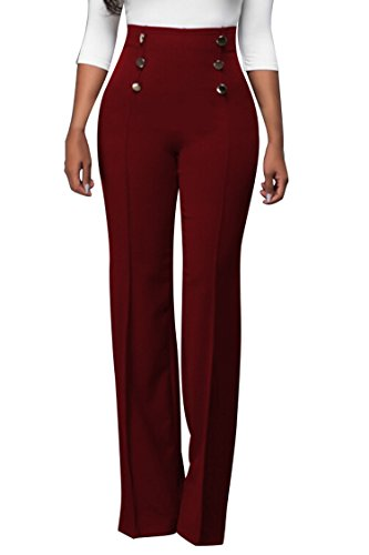 COCOLEGGINGS Womens Stretchy Bottoms Palazzo