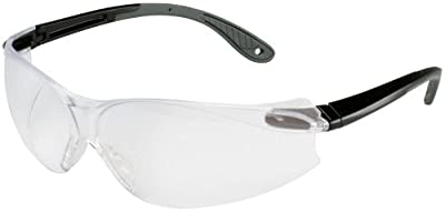 3M Tekk Virtua V4 Anti-Fog Safety Glasses, Black Frame, Clear Lens