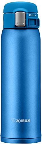 ZOJIRUSHI Termo Bebidas, Acero Inoxidable, Azul Mate, 6 5x7x22 cm