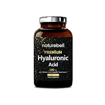 Amazon.com: Hyaluronic Acid 100 mg 180 Vegetarian Capsules