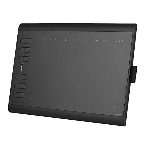 Digital Writing Pad (HUION 1060PLUS Portable Drawing Graphics Tablet Pad 10