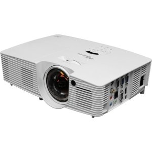 Hdtv Ready Ntsc Tv (Optoma X316ST 3D Ready DLP Projector - 720p - HDTV - 4:3 - 2.8 - 210 W - NTSC, PAL, SECAM - 4000 Hour - 6000 Hour - 1024 x 768 - XGA - 20,000:1 - 3200 lm - HDMI - USB - VGA In - Ethernet - 280 W - 3 Year Warranty - X316ST)