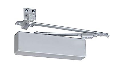 Norton Door Controls UNI7500H-36 x 689 7500 Series Door Closer, Cast Aluminum Body, Adjustable Size 1-6, Spring Stop Arm, Aluminum Finish