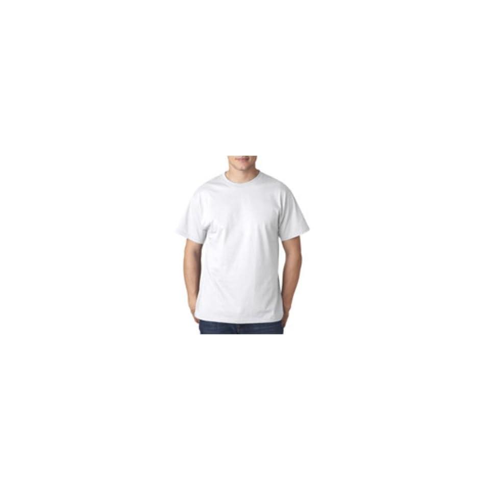 Fruit Of The Loom Adult Lofteez Hdt Shirt, White, 2Xl