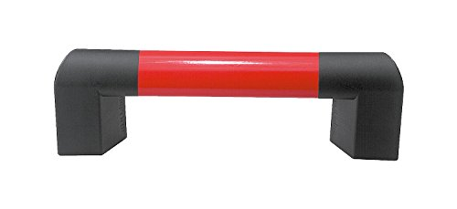 Ruby Red Anthracite Gray End Piece Socket Head Screw DIN 912 Kipp 06948-140027 Aluminum//Thermoplastic Oval Tube Big Hand Metric 400 mm Length