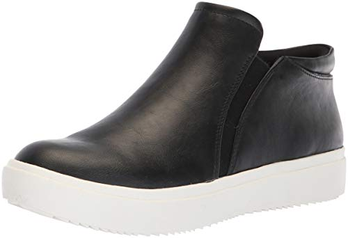 Dr. Scholl's Shoes Women's Wanderfull Sneaker, Black Smooth, 9 M US