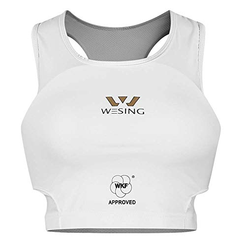 WESING WKF Approved Karate Chest Protector for Women