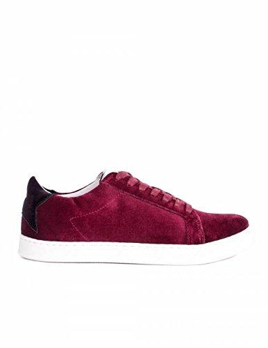 Deportivas Terciopelo Burdeos PERA LIMONERA - Color - Burdeos, Talla Zapatos Mujer - 38: Amazon.es: Zapatos y complementos