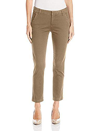 LEE Women's Petite Modern Series Midrise Fit Linea Ankle Pant, Flax, 10 ()