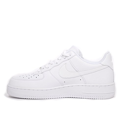 Nike Air Force 1 '07 Mens Sneakers Style# 315122 (12 Mens US, White/White)