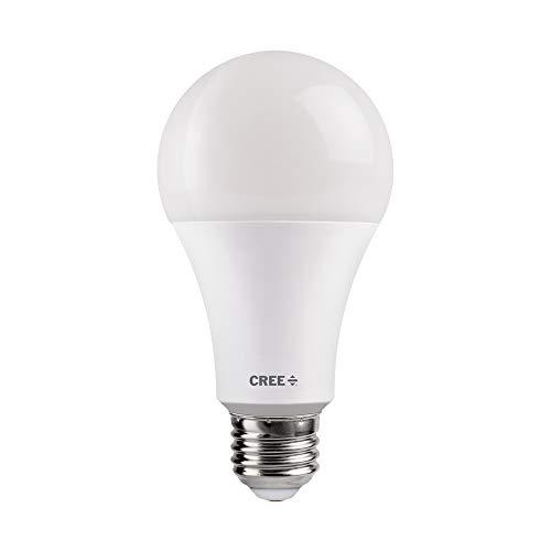 100w Large 1 Light - Cree TA21-16030MDFH25-12DE26-1-11 A21 100W Equivalent LED Light Bulb, Bright White