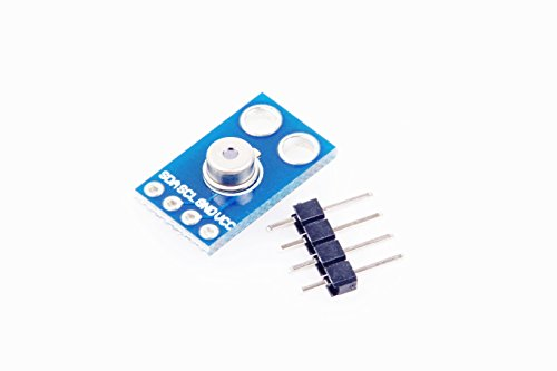 KNACRO MLX90614ESF IR Infrared Body Temperature Sensor Non Contact Thermometer Breakout Board for Arduino I2C Interface